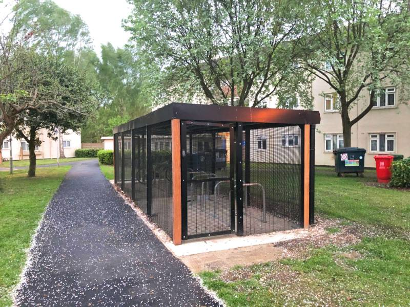 Security Cycle Enclosure - Oxford Direct