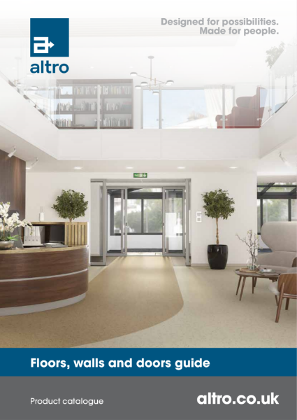 Altro Product Catalogue 2021 - Floors, walls, and doors guide