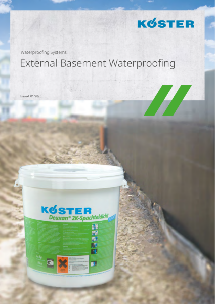 Koster Waterproofing Systems: External Basement Waterproofing