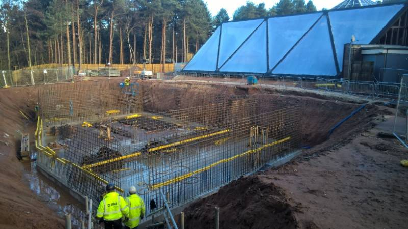 Aggregate Industries dives in at the deep end of £15m revamp of Centre Parcs Sherwood Forest