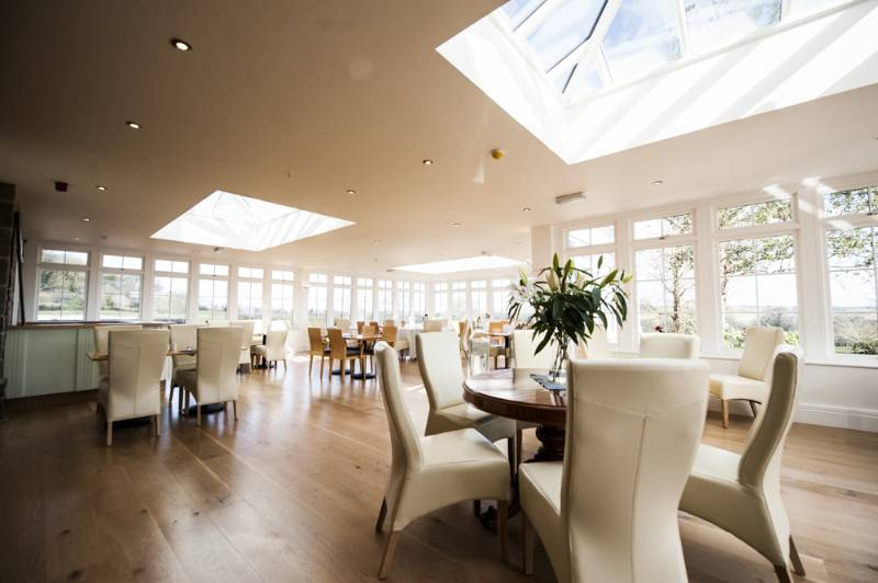 Restaurant Orangery at Trefloyne Manor, Pembrokeshire