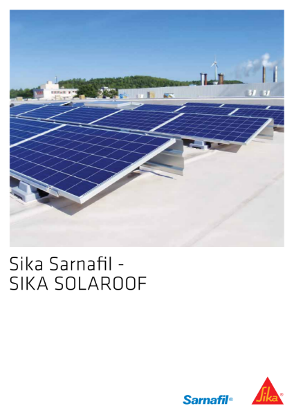 Sika SolaRoof brochure