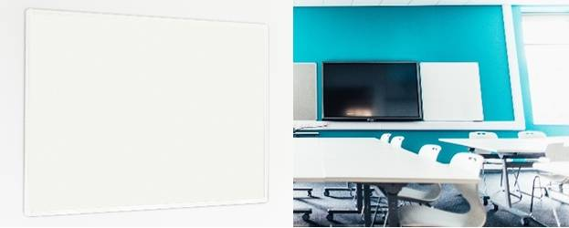 Sundeala High Pressure Laminate Whiteboard - Aluminium Framed with Non-Magnetic Writing Surface