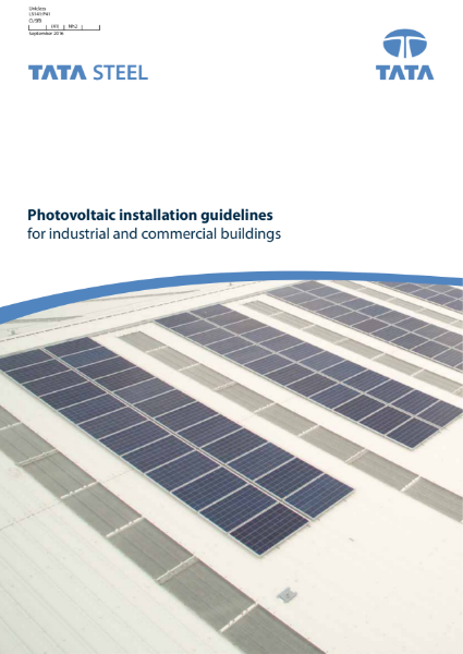 Photovoltaic installation guidelines for industrial and commercial buildings