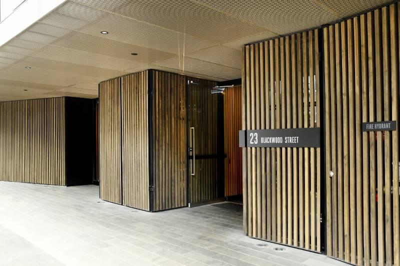 Accoya chosen for Blackwood Street apartments in Melbourne