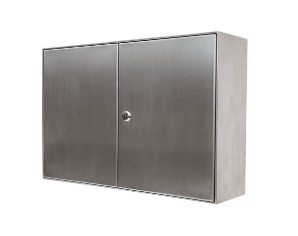 KESSEL Access Panel Stainless Steel, Wall Installation
