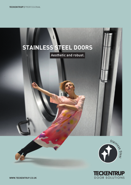 Teckentrup Stainless Steel Door & Doorsets for Fire, Security, Smoke and Acoustic applications in architectural settings, clean environments, high stress & chemical sites.pdf