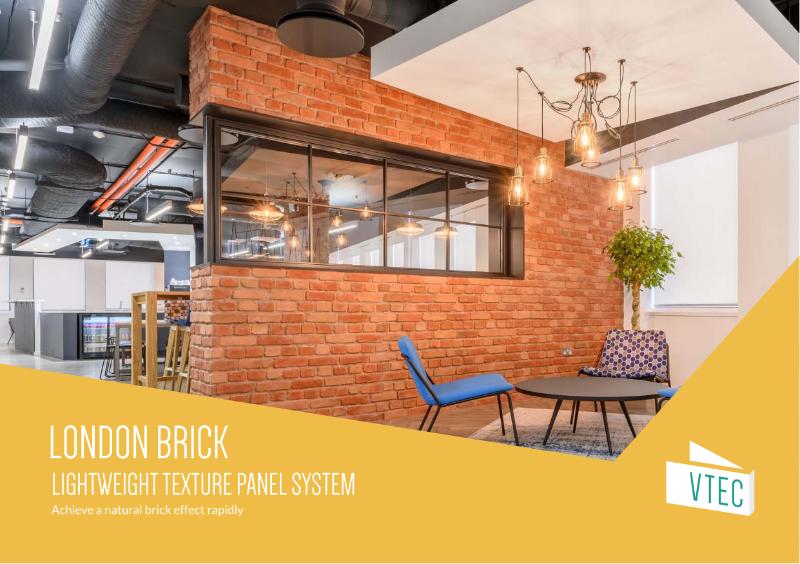 London Brick Panels - Texture Range