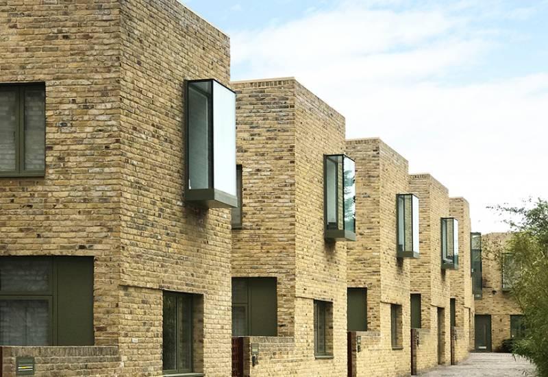 Award-winning development marries sleek design with traditional materials