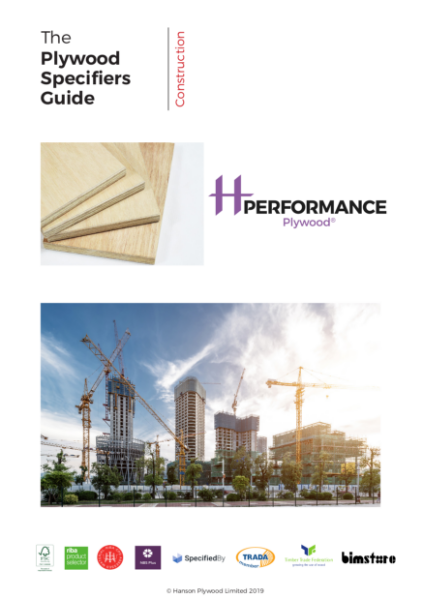 Performance Plywood® Specifiers Guide