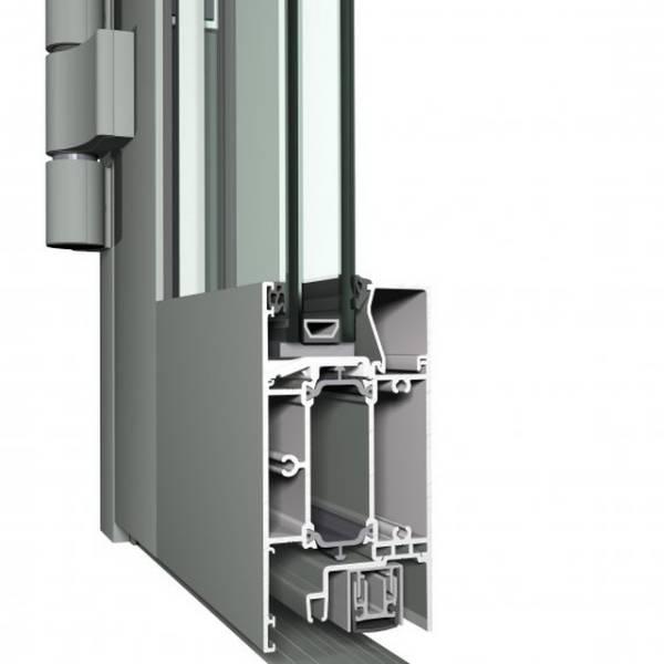 Aluminium Door CS 68 Concept System