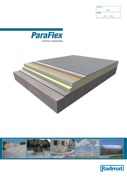 ParaFlex - Cold resin waterproofing