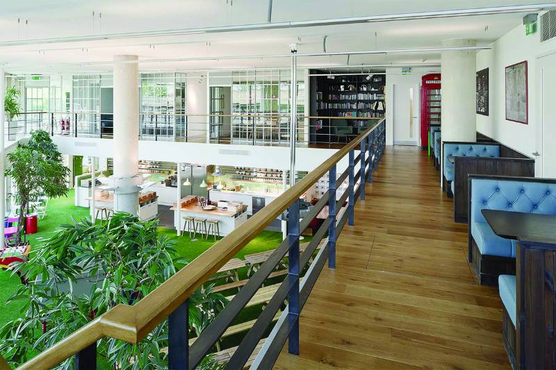 Innocent Smoothies London HQ