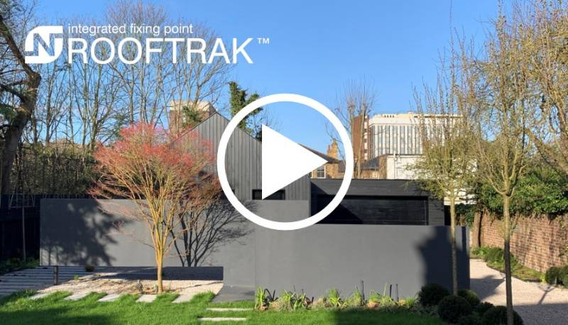 ROOFTRAK™ - Timber clad private residence