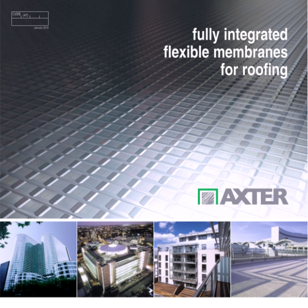 fully integrated flexible membranes for roofing