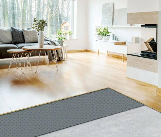 Platon Comfort - Damproofing Underlay Membrane for Concrete Floors