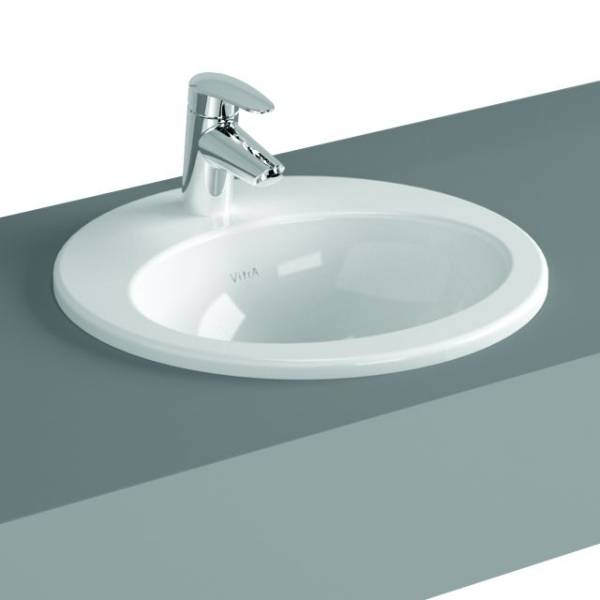 VitrA S20 Counter-top Basin, 43 cm, Oval, 5466