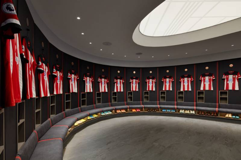Rockfon supports perfect changing experience at Southampton FC