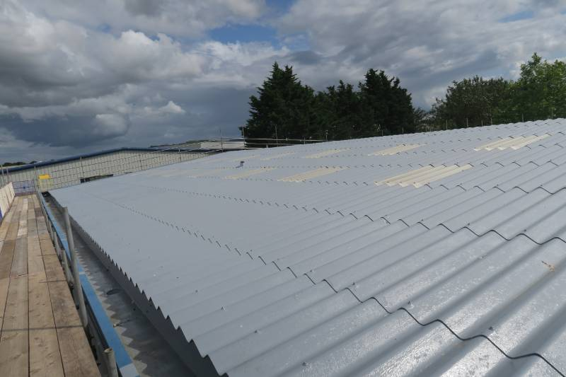 Asbestos Roof Coating & Metal Gutter Lining by Liquasil Ltd