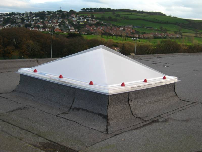 Em-Dome® Pyramid - Rooflight