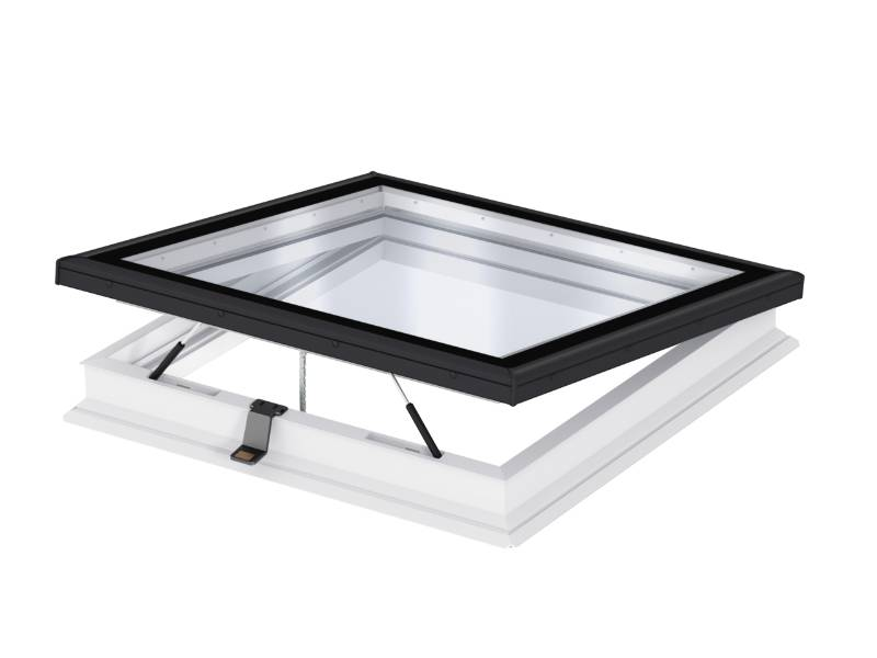 CVP INTEGRA® Elect. flat roof window, flat glass