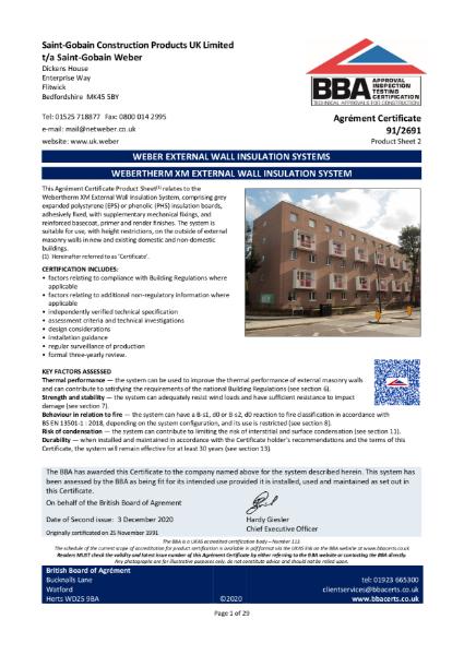 Certificate: 91/2691
