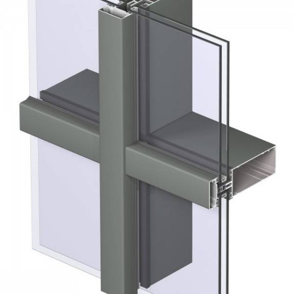 Aluminium Curtain Wall CW 50