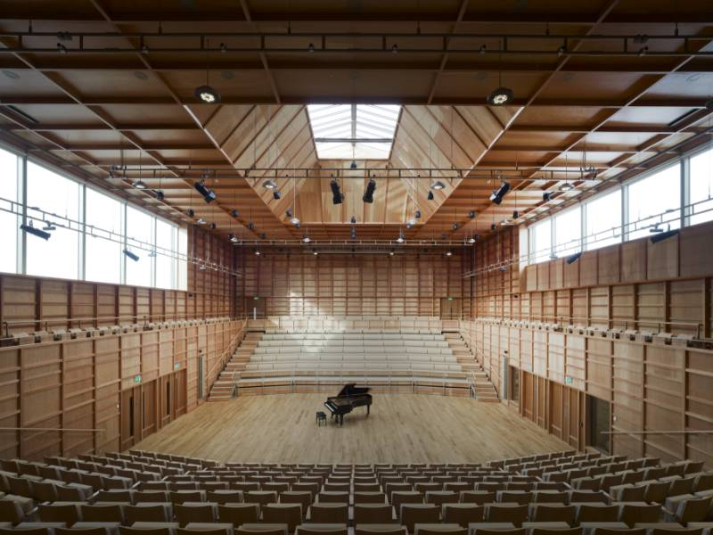 UNIVERSITY OF KENT - THE COLYER-FERGUSSON MUSIC BUILDING