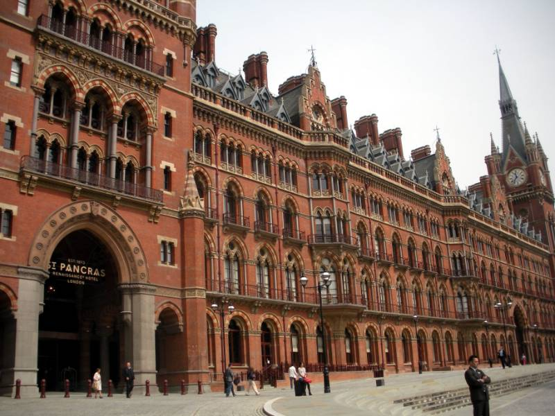 St. Pancras Station Hotel