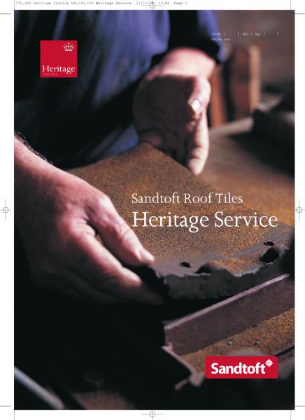 Sandtoft Ridge Tile Heritage Service