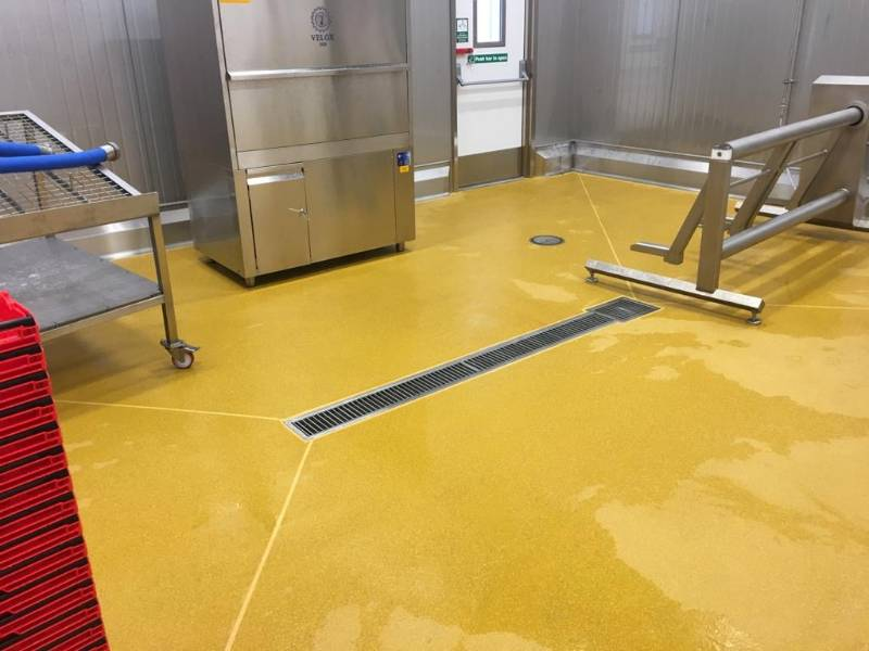 Aspen Stainless for fresh food manufacturer
