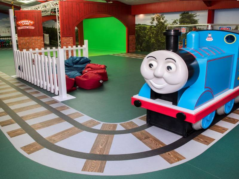 Polyflor is right on track at Thomas Land