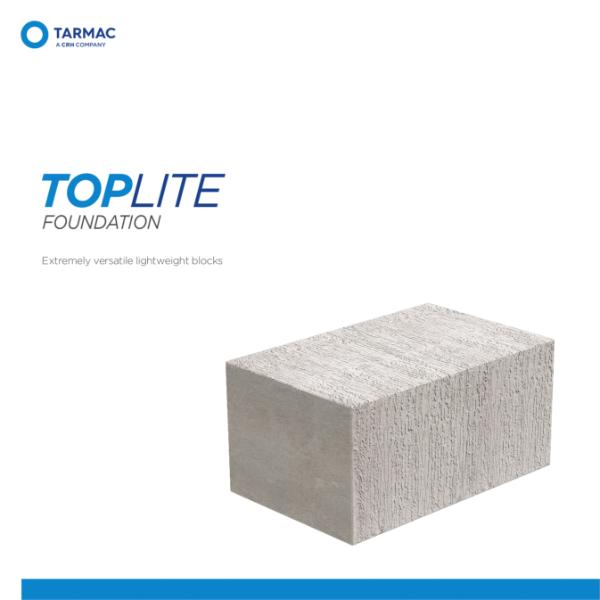 Toplite Foundation - Aircrete Blocks Product Guide