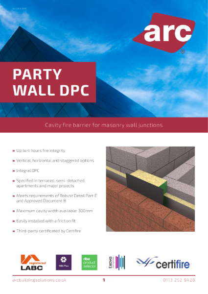 ARC Party Wall DPC