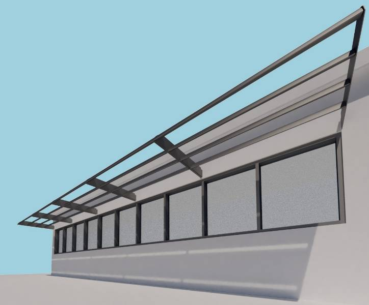 Shadex 260 Horizontal Solar Shading System