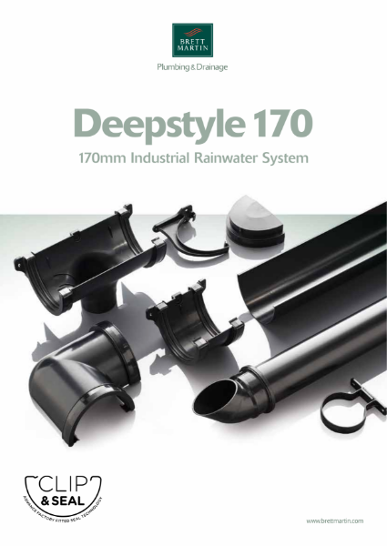 Deepstyle 170 - 170mm Industrial Rainwater System