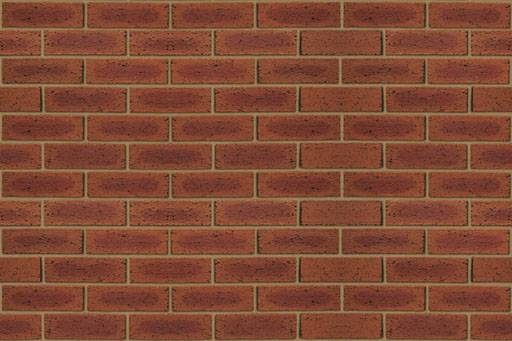 Hearted Red Rustic - Clay bricks