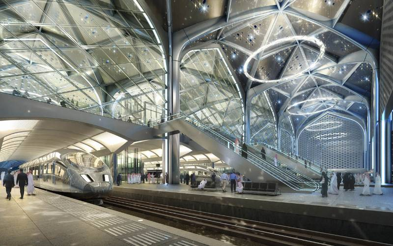 Haramain High Speed Rail - Delmatic systems provide powerful scene-setting lighting control and monitoring