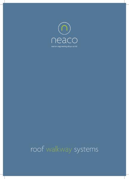 Techdek and Paldek Roof Walkway Brochure