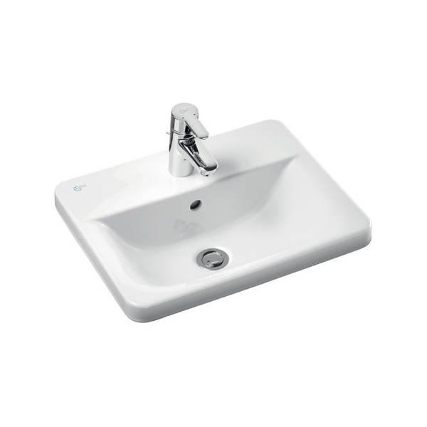 Concept Cube 58 cm Countertop Washbasin