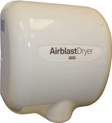 Airblast Hands Under Hand Dryer