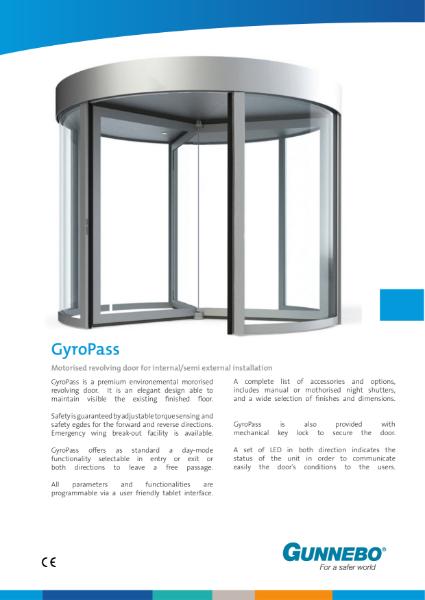 GyroPass Revolving Door