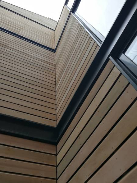 Canadian Western Red Cedar Timber Cladding Case Study - NORclad - Barley Mow Workspace