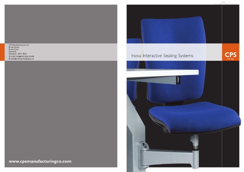 CPS Inova Turn and Learn Interactive Seating Systems