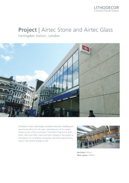 Farringdon Station project report