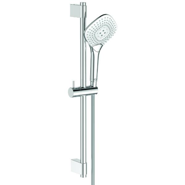 Ideal Rain Evo Jet – Diamond Handshower And Rail Kit 600 1750 If