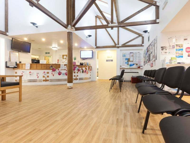 Polyflor safety flooring helps to improve acoustics in GP surgery