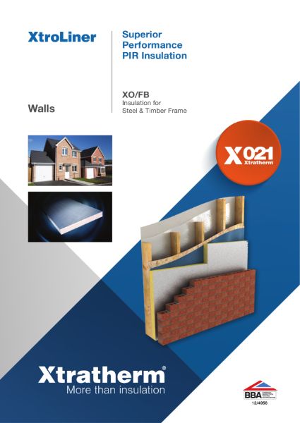 Insulation for Steel & Timber Frame (XO/FB)