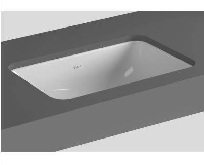 S20 undercounter washbasin, rectangular