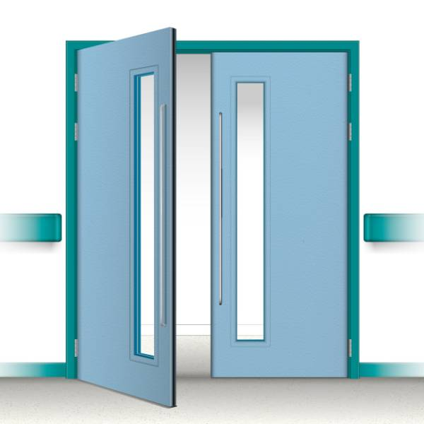 Postformed Double Doorset - Vision Panel 5